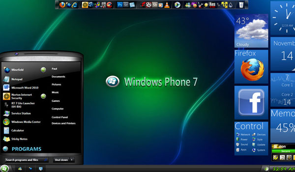 Midnight glass nature windows 7 theme pack youtube.